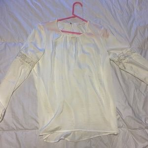 Flowy White Blouse from Spain